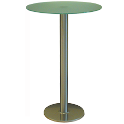 High bar table (glass)
